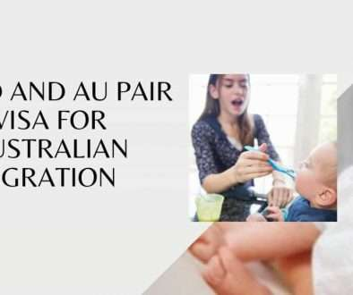 Child and Au Pair visa for Australian migration