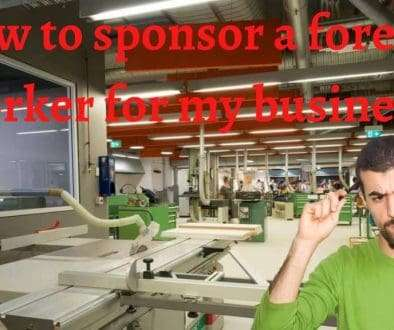 sponsor a foreign worker