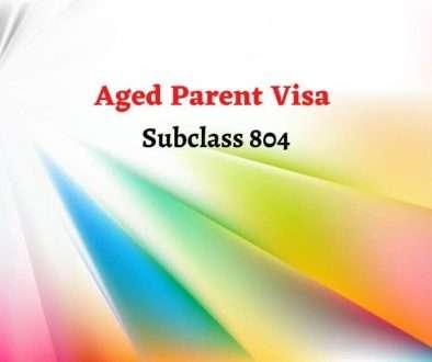 Aged Parent Visa (Subclass 804)
