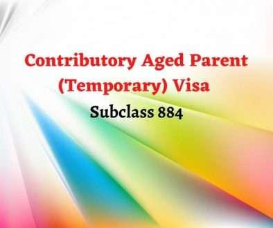 Contributory Aged Parent (Temporary) visa - Subclass 884