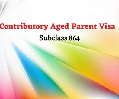 Contributory Aged Parent Visa (Subclass 864)