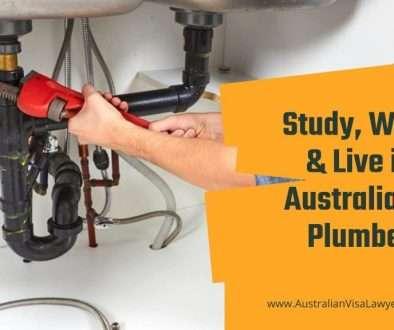 Study, Work & Live in Australia as Plumber