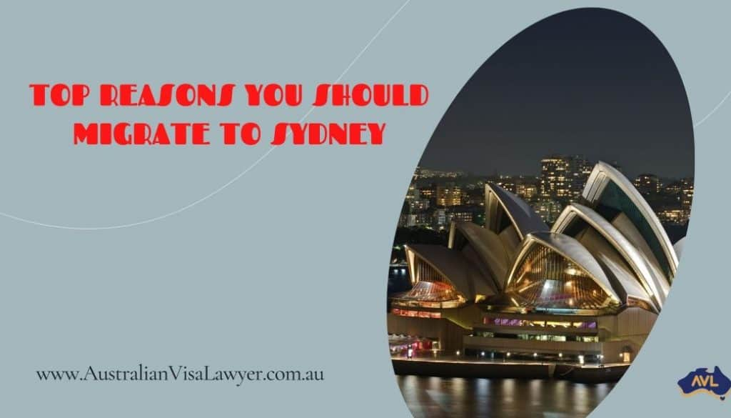 reasons you should migrate to Sydney