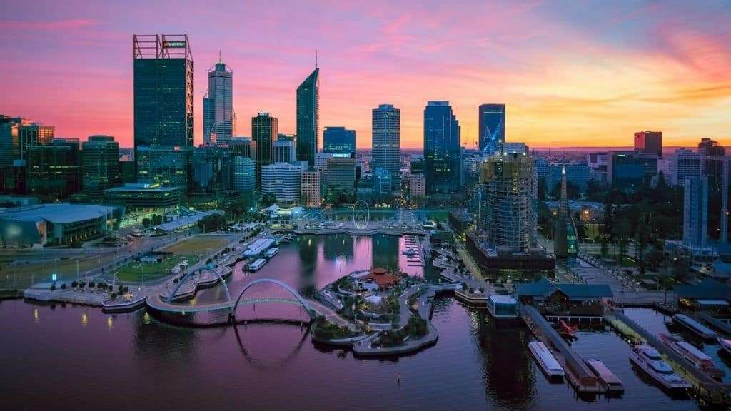 Best city in Australia for mining industries - Perth
