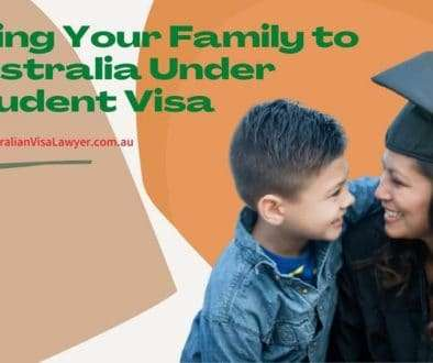 Can international students bring the family